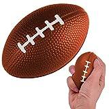 Chilits Mini balles de Sport balles Anti-Stress, Rugby Terre Boule Souple, favorisent Les Jouets, Enfants Parti Sac De Remplissage pour Enfants Jouant Libération du Stress