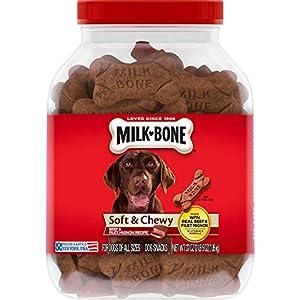 Milk-Bone Soft & Chewy Dog Snacks (Beef & Filet Mignon Recipe) 37Oz