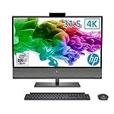 HP 液晶一体型パソコン インテル Core i7/16GBメモリ/512GB SSD/2TB HDD NVIDIA GeForce RTX 2070 31.5インチ UHD 4K ディスプレイ HP ENVY All-in-One 32 WPS Office付き (型番:140B6AA-AAAB)