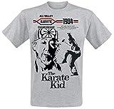 Karate Kid All Valley Karate Championship Camiseta Gris/Melé S