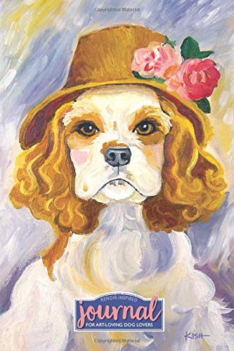 Art & Dog Lovers Journal (Renoir-Inspired Spaniel): Lined Journal for Capturing Thoughts, Dreams & Inspirations