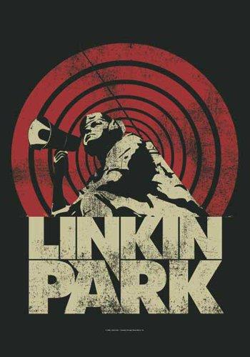 empireposter Linkin Park Flagge - Loud und Clear - Posterflagge 100prozent Polyester Grösse 75x110 cm