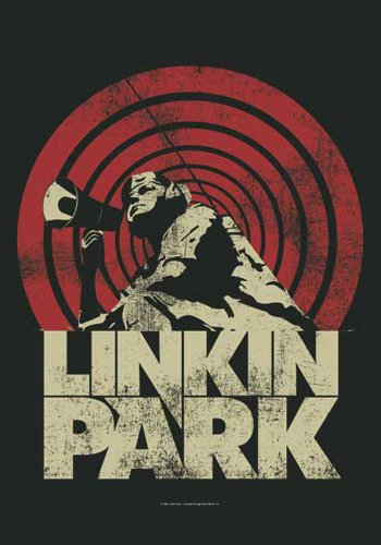 empireposter Linkin Park Flagge - Loud & Clear - Posterflagge 100% Polyester Grösse 75x110 cm