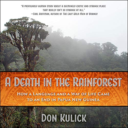 A Death in the Rainforest audiobook cover art
