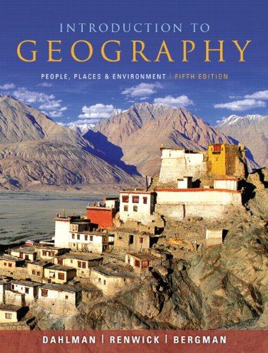 Introduction to Geography: People, Places, and Environment (5th Edition)