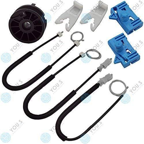 YOU.S 8200722827 elektrischer Fensterheber Reparatursatz - Vorne Links