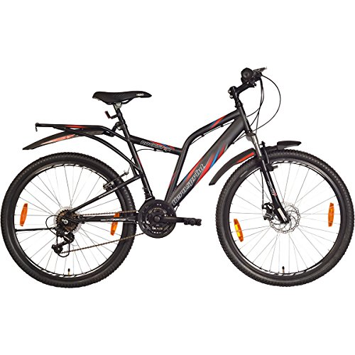 Hero Sprint Rockstar 26T 21 Speed Adult Cycle - Matt Black