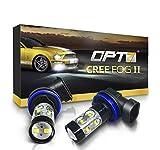 OPT7 CREE H11 LED DRL 5000K...