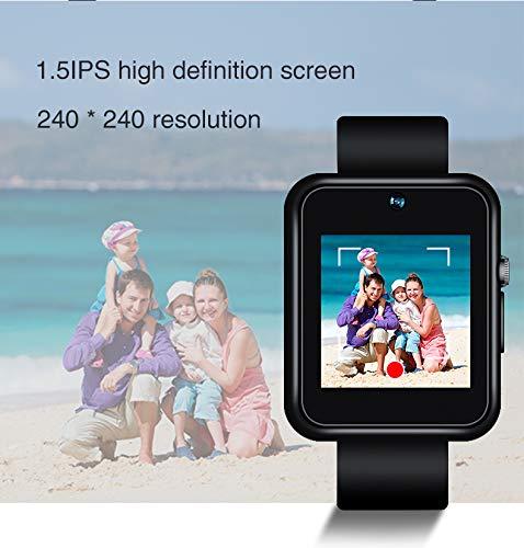 Reloj de foto inteligente 1080p Motion video touch operación múltiples escenas de aplicación DV con cifrado de archivos para reuniones de negocios,entrevistas de reportero,grabaciones de la corte