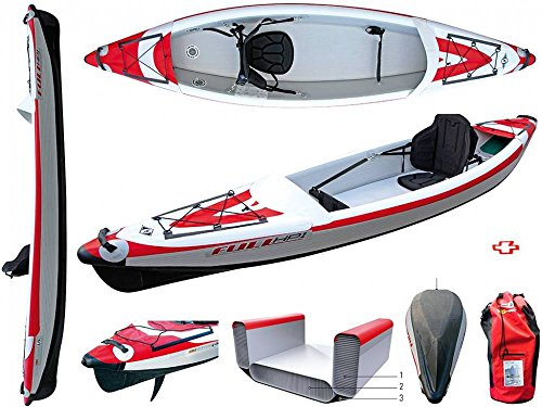 BIC Sport Inflatable Kayak YakkAir FULL HP1-350 - by Surferworld