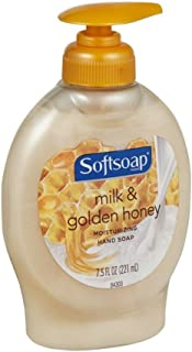Softsoap Elements Milk Protein and Honey Moisturizing Hand Soap 7.5 oz (Pack of 2)