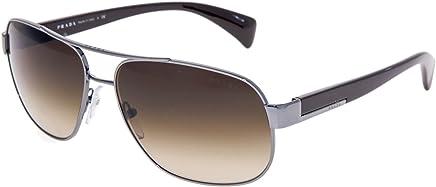 90a37ca635 Prada PR52PS Sunglasses-5AV 6S1 Gunmetal (Brown Gradient Lens)-61mm