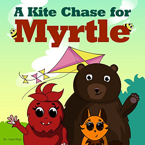 A Kite Chase for Myrtle audiobook cover art