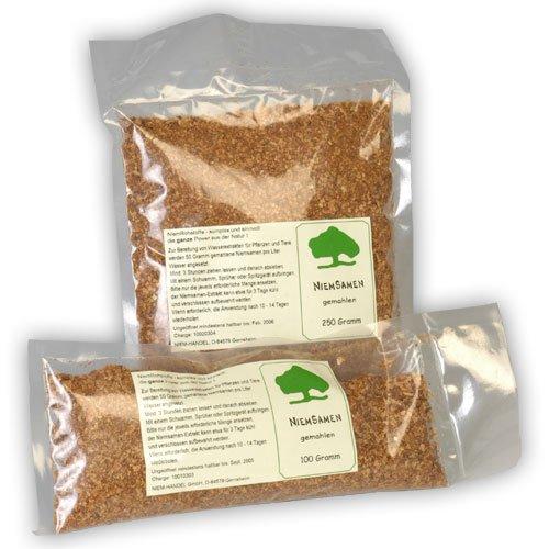 Niemsamen (Neemsamen) gemahlen, 250 g