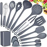 Kitchen Utensils Set, Silicone Cooking Utensils Set15pcs Cooking Utensils Set, Non-stick Heat...