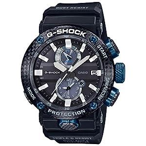 """[カシオ] 腕時計 ジーショック Bluetooth 搭載 電波ソーラー カーボンコアガード構造 GWR-B1000-1A1JF メンズ ブラック"""""""