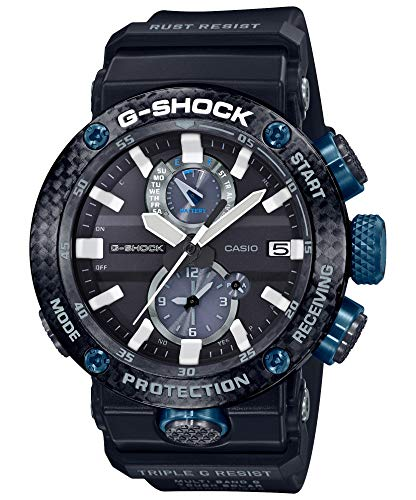 Casio] Watch Gee Shock with Bluetooth Solar Radio Carbon core Guard Structure GWR-B1000-1A1JF Men's Black