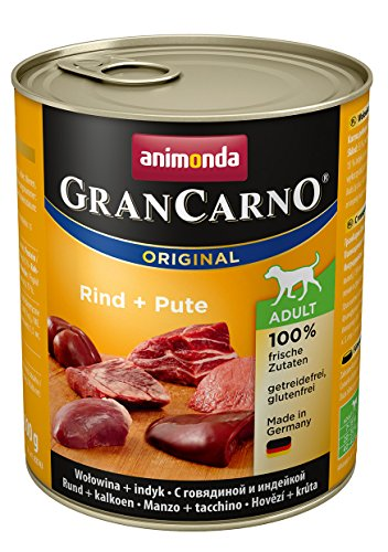 Animonda Gran Carno Hundefutter Adult Probierpack Adult Mix 2 (6 x 800 g) - 3