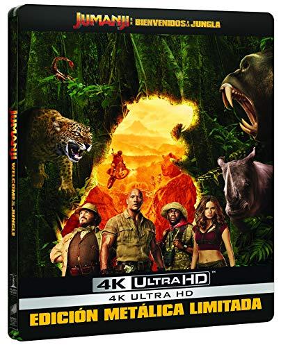 Jumanji: Bienvenidos A La Jungla (4K UHD) - Edición Especial Metal Exclusiva...