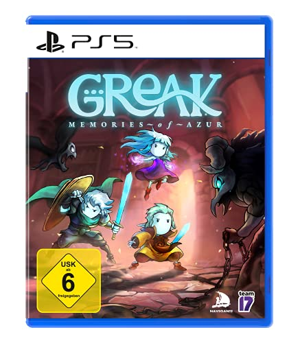 Greak: Memories of Azur (PlayStation PS5) [Alemania] [Blu-ray]
