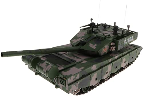 B Blesiya Legierung Panzer Modell Tank Spielzeug Kampffahrzeug Auto Spielzeug, Geschenk für Freunde und Kinder