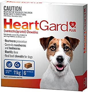 Heartgard Chewable Dog Food, 6 Count