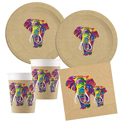 Procos- Set de Fiesta S Elefante compostable (10136151B)