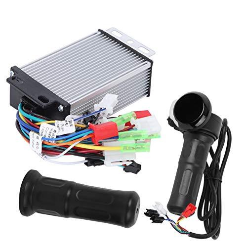 DAUERHAFT Pantalla LCD Empuñadura del Acelerador Fuerte Potencia de Escalada, para Bicicleta eléctrica, para Fuente de alimentación