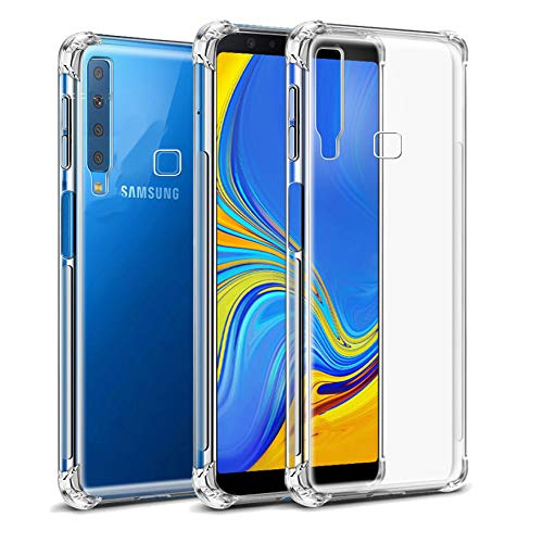 Capa Anti Shock Samsung Galaxy A9 2018, Cell Case, Capa Anti-Impacto, Transparente