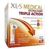 XL-S MEDICAL Extra Fort – Pour une aide à la perte de Poids Efficace* – Réduit L'Absorption des Calories issues des sucres lents, sucres rapides et graisses – Boîte de 60 sticks