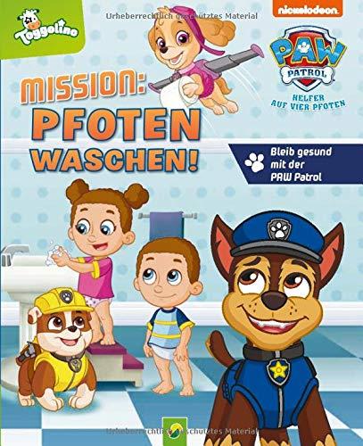 Mission: Pfoten waschen: Bleib gesund mit der Paw Patrol