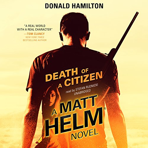 Death of a Citizen  Audiolibri