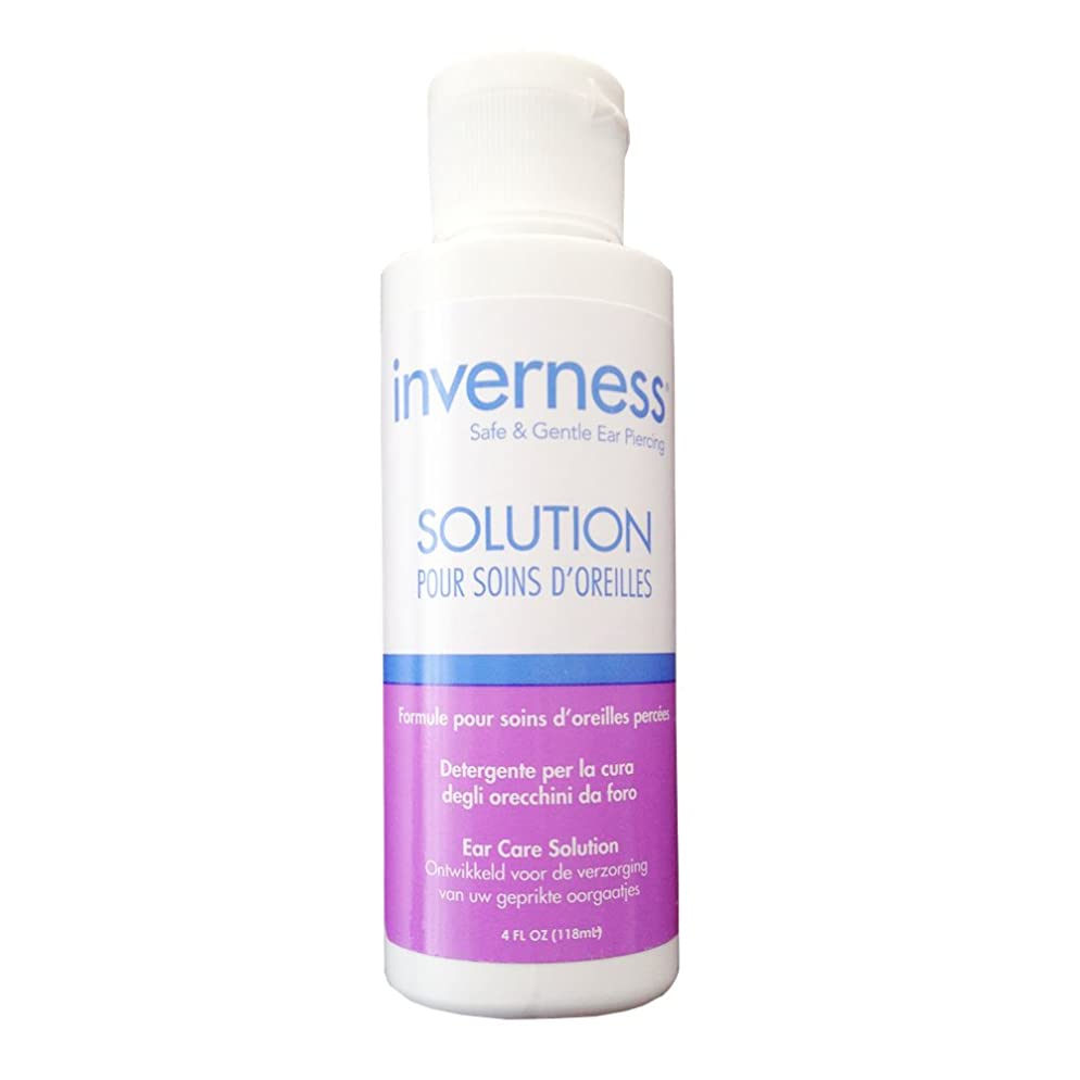 INVERNESS After Piercing Ear Care Solution 4 oz