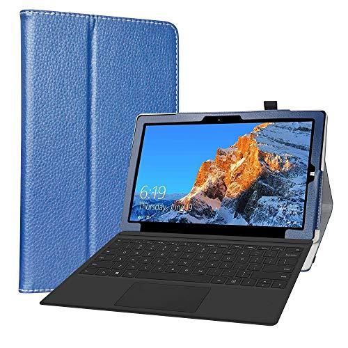 LiuShan Compatibile con TECLAST X4 2 in 1 Custodia,Slim Sottile Pieghevole con Supporto in Piedi Caso per TECLAST X4 2 in 1 Laptop Tablet 11.6 inch,Blu