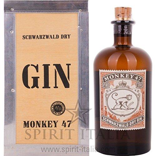 Monkey 47 DISTILLER\'S CUT 2016 Gin GB 47,00 {65ac1f84efdae571f6d026c9e44693fcdc5aefcfc266f6ec5f3b37ffd2ac27dc} 0.5 l.