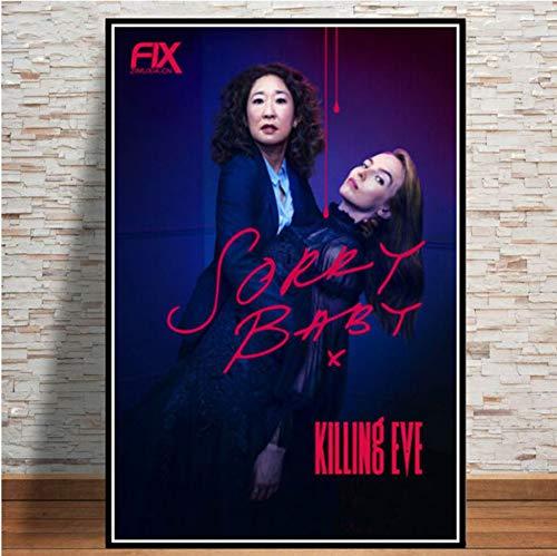 MXIBUN Cartel e Impresiones Killing Eve USA Series de televisión...