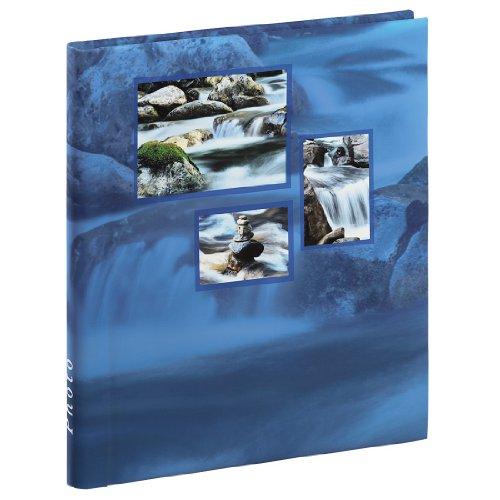 Hama 00106267 Singo Pegar álbum de Fotos Adhesivas (28 x 31 cm, 20 páginas), Color Azul, Papel, 28x31cm