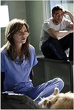 Grey's Anatomy Jeffrey Dean Morgan Sitting On Hospital Window Ledge 8 x 10 Photo