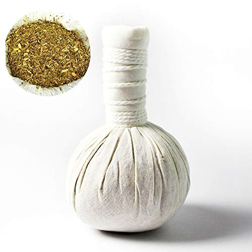 10 x Pindas herbales tailandés 200g / bolsas para los masajes ayurvédico - hierbas de tailndés - MyThaiMassage - ingredientes 100% naturales