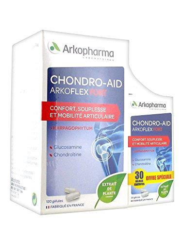 CHONDRO-AID FORT Offre boite de 120 gélules + 30 gélules gratuites