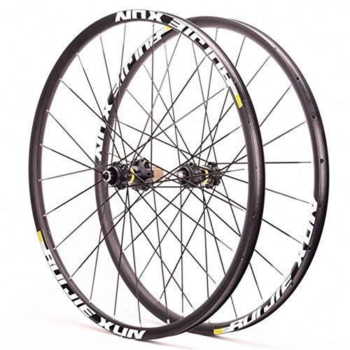 TYXTYX Ejes de liberación rápida Accesorio de Bicicleta Juego de Ruedas de Bicicleta 700c Bicicleta de Carretera de liberación rápida Rueda de Ciclismo Centro de Freno de Disco Buje de rodamiento s