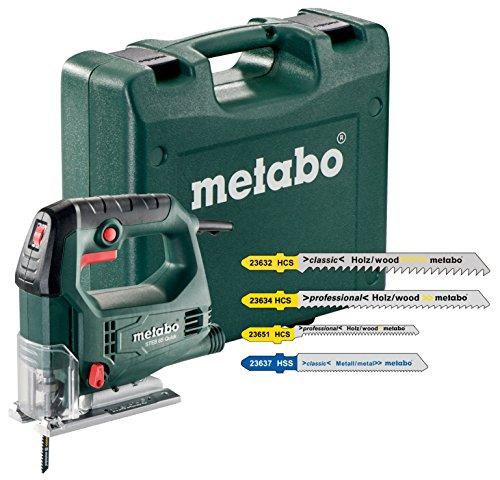 Metabo STEB 65Quick seghetto sägeinklusivive 20assortimento teiliges lama per seghetto alternativo, 1pezzo, verde/grigio/nero/rosso, 690920000