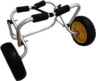 Kajakvagn Vagn med Luftfria Däck Kapacitet för Transport Av Kajak, Paddleboard, Kanot - Aluminiumram Av