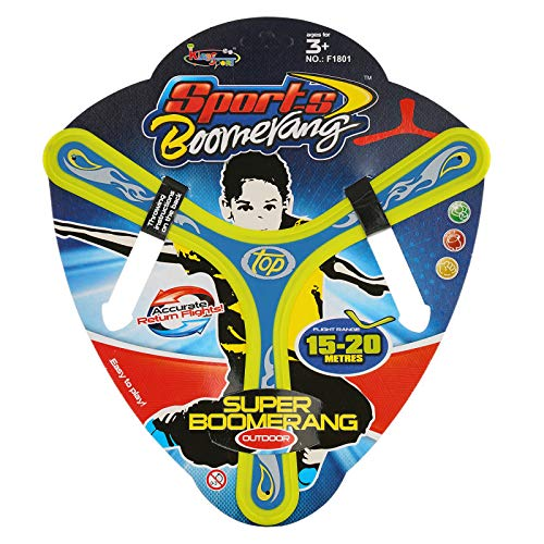Gooyo Colourful All Style Returning Star Boomerang Sports Game Toy for Beginners and Young Throwers (Assorted)…