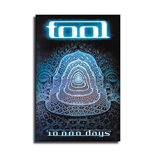Tool 10000 Days Wall Art for Living Room Print Artwork Wall Art Decor Poster Painting Canvas Prints Picture Home Office Wall Decor -235 (No Framed,20x30 inch)