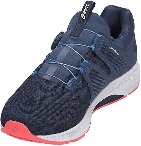 ASICS Dynamis Running Shoe 105 Navy Blue