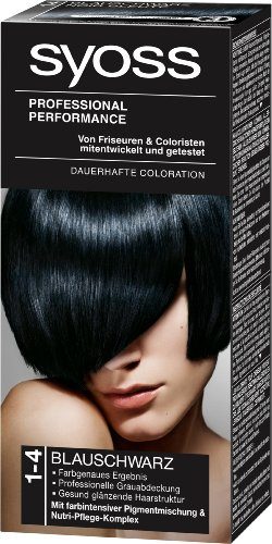 Syoss Color 1-4 Blauschwarz Stufe 3