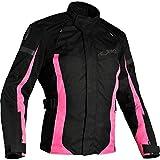 2BI700/DS - Richa Biarritz Ladies Motorcycle Jacket S Black Pink