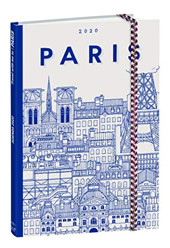 Quo Vadis Docteur Paper Businesskalender met elastiek, weekoverzicht, 10 x 15 cm, Parijs, jaar 2020