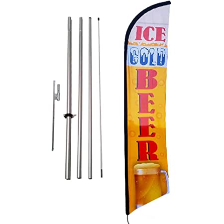 LUNCH SPECIAL Banner Sign Flag Display Kit SWOOPER STARTER Bow Feather